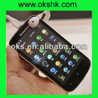 Original China brand android smart mobile phone Lenovo a800 MTK6577T dual core 2sim 4.5''