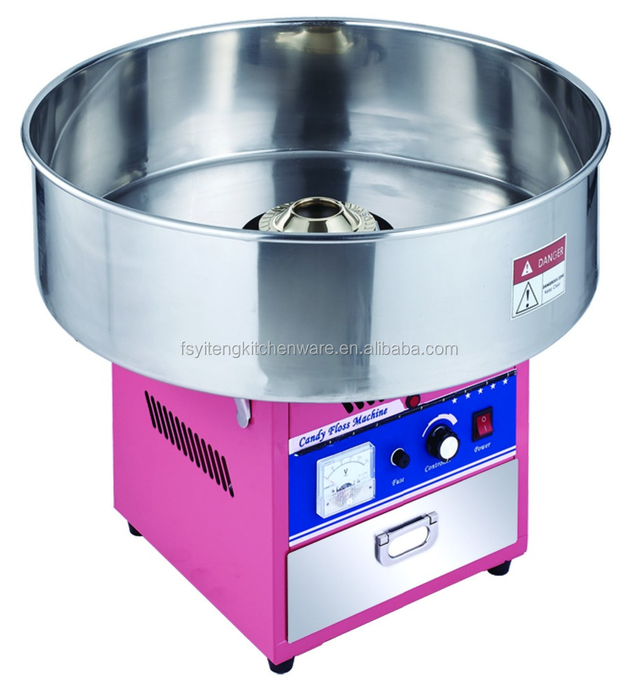 Electric Cotton Candy Floss Machine With Music