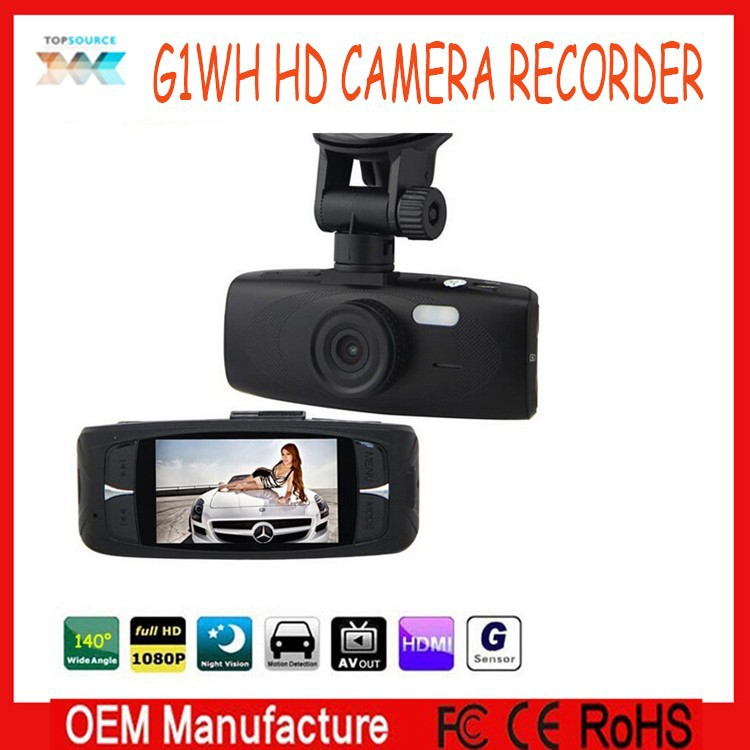 Best G1WH Car Dash Camera with NTK96650 + AR0330 + Night Vision + Loop Recording