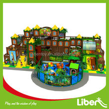 soft playground euqipment/ kids indoor play for commercial center (LE.BY.064)