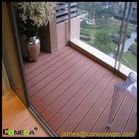 FSC Outdoor All Weather WPC Hollow Decking Water Proof,UV,Fire,Weather resist