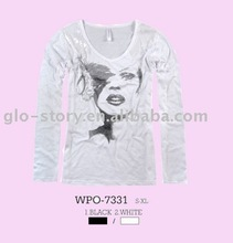 Glo-story hot cotton brand clothing for women
