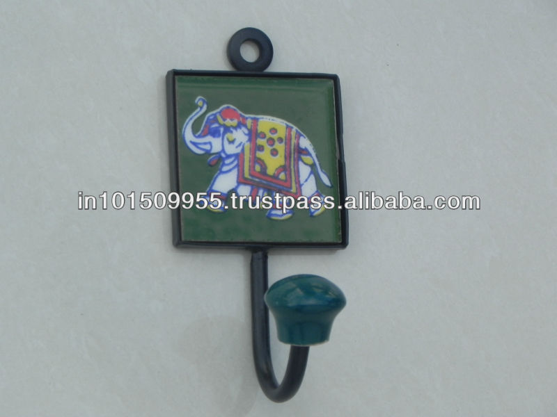 Ceramic Tile Hooks buy at best prices on india Arts Palace