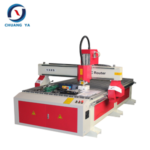 China CE certificated laguna 1325 4 axis cnc router for aluminum woodworking (1300x2500mm)