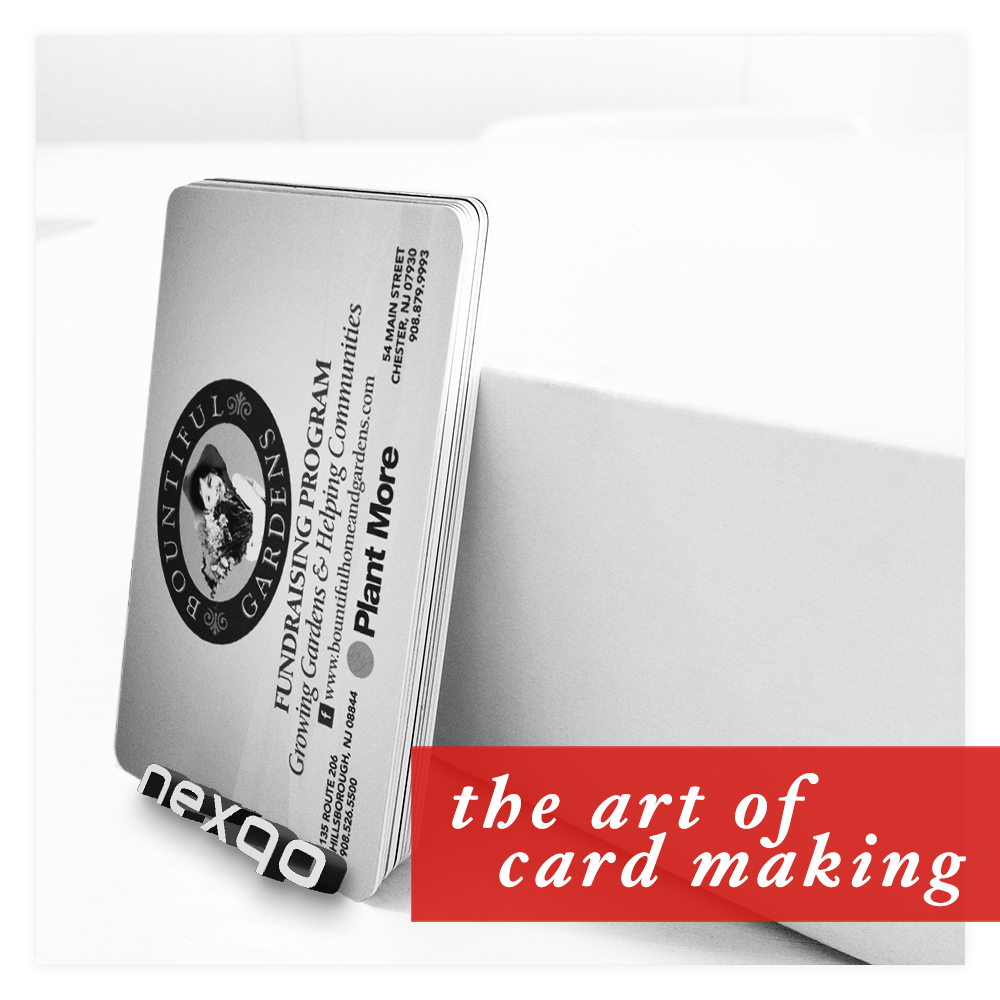 Blank white credit card size 125KHz RFID cards