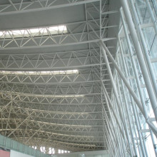 prefabricated Steel structure airport hangar terminal building