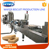 Small Occupation Full Automatic Wafer Machine Production Line Hot Design