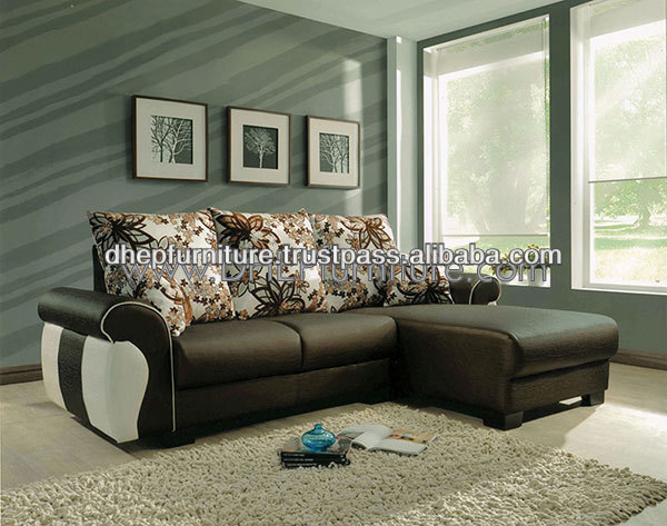 Leather L-Shape Sofa