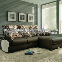 Leather L Shape Sofa
