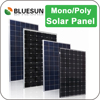 BlueSun 80W 100W 150W 250W 300W 310W cheap solar panel China