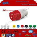 Standard Grounding and Industrial Application 3pin Industrial Plug
