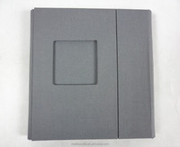 Cloth/ fabric cover CD/DVD case/folio