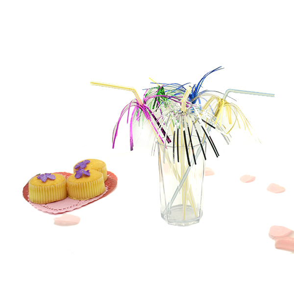 Decoration cocktail custom crazy drinking straw