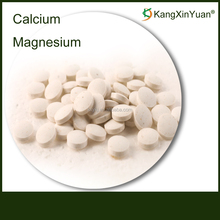 Private Label Calcium And Magnesium Powder Supplement Tablet in Bulk Blister Bottle