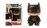 Gzltf NEW Hot sell PVC Funko POP10cm red Batman Earth2 62# action figure
