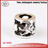 Yiwu Jewelry Supplies Metal Silver- plated DIY Spacer Beads