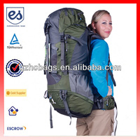 2014 hot sell waterproof hiking bag&backpack for hikers