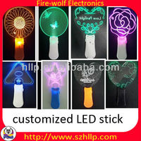 LED stick for Super Junior,OEM flashing stick manufacturer