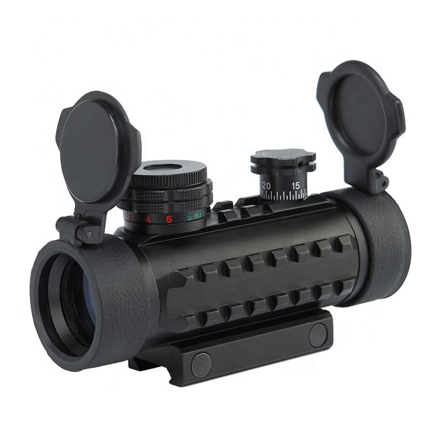 1x30 mm Reticle Red Dot Sight with Multi - rail Sight Scope