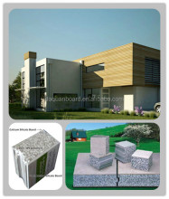 CE, ISO&BV China modular house/prefabs - Daquan lightweight EPS cement sandwich wall panel building system.