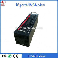 Hot Sale 16 ports sms modem quad band gsm/gprs modem for sms market