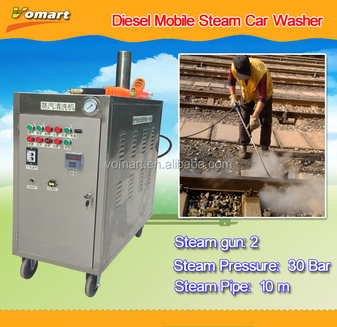 Outdoor steam car washer machine/steamer car wash price/hidrolavadoras of high pressure cars