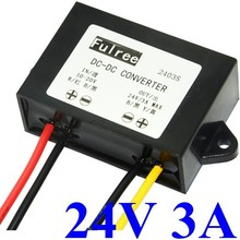 12v 24v voltage converter 10-20 wide input step up to 24v 3A boost power supply module voltage regulator , Hot Item ! High Q