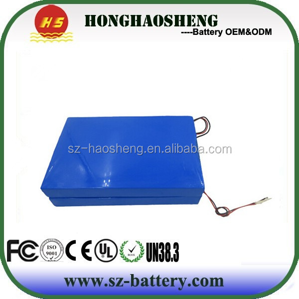 Best price rechargeable electric scooter battery 60v 12Ah with BMS