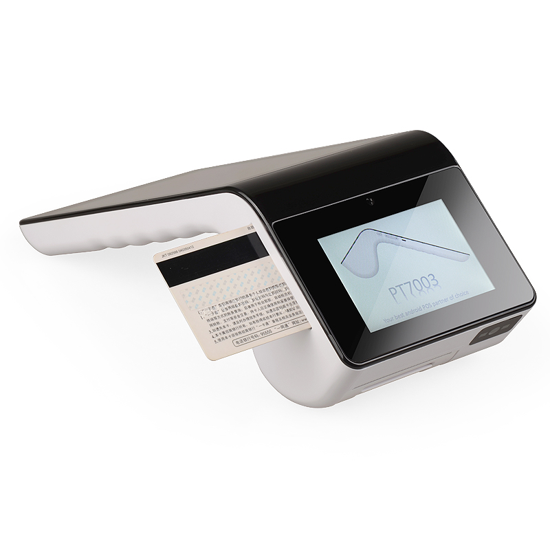 Tousei PT7003 Android System IC/ Magnetic/ Credit Bank Card Reader Low Cost Pos Terminal With emv