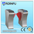 smart building turnstile for building management via RFID cards and manual button