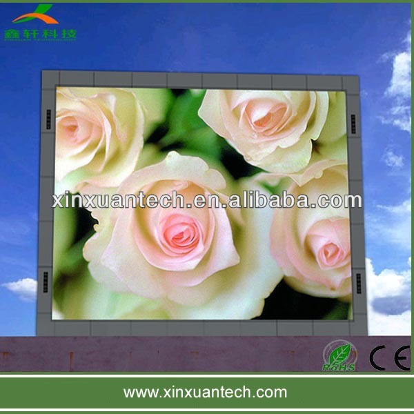 reasonable price 16mm outdoor advertising led display