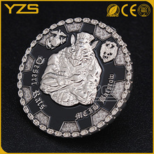 Factory Custom antique silver plating medieval coin