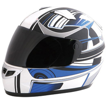 ECE approved motorcycle full face vintage helmet