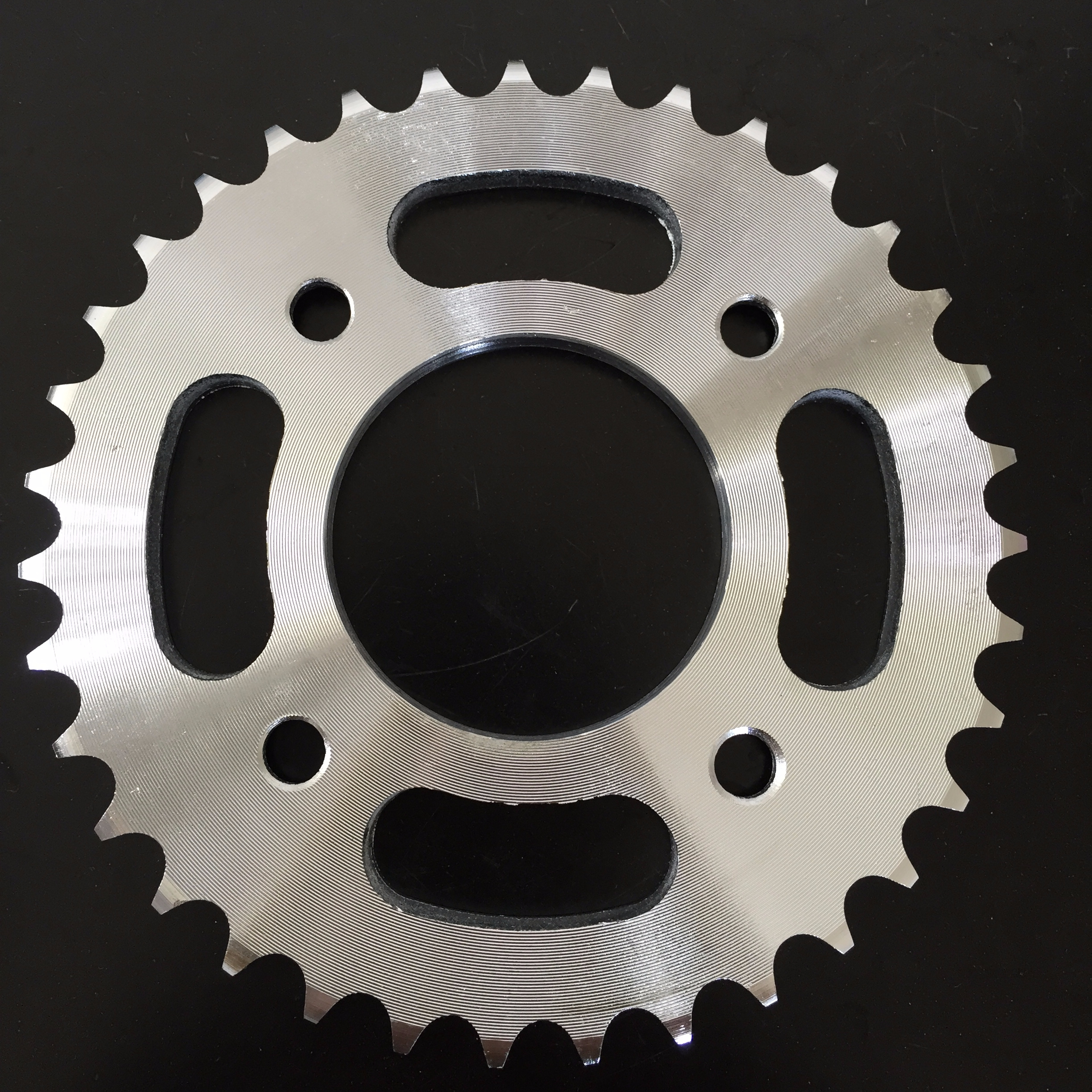 CG125 TITAN 99 <strong>1045</strong> <strong>steel</strong> CNC line galvanized color 43T/14T 428H-116L motorcycle chain and sprocket kits