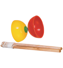 SOFT DIABOLO WITH PLASTIC AXES