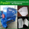automatic and industrial eps foam densifier/foam recycling machine/melt styrofoam recycling machine
