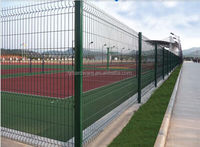 powder coated garden fencing net iron wire mesh