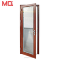 China suppliers aluminum frosted glass interior doors