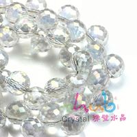 Pujiang factory selling disco faceted round ball beads for chandelier decoration