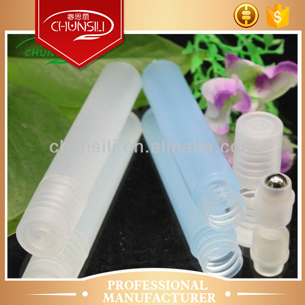 clear colour cosmetic soft plastic tube for face cream packing lady diamond perfume bottle