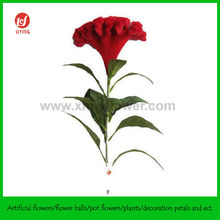 "32"" Artificial Flower Cockscomb- China Red"