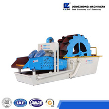 High quality ore sand washing machine and vibrating dewatering screen with low price export to India