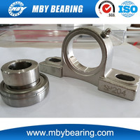 Stainless Steel Insert Ball Bearing SA203 Pillow Block Bearing