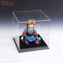 retail shop basketball figure display square acrylic ball display case