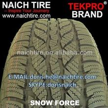TEKPRO BRAND 235/75R15,225/65R17,205/50R17,205/60R15 Studded/NON-Studded Winter Tires with cheap prices