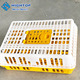 free samples plastic poultry chicken transport cage for sale for wholesales