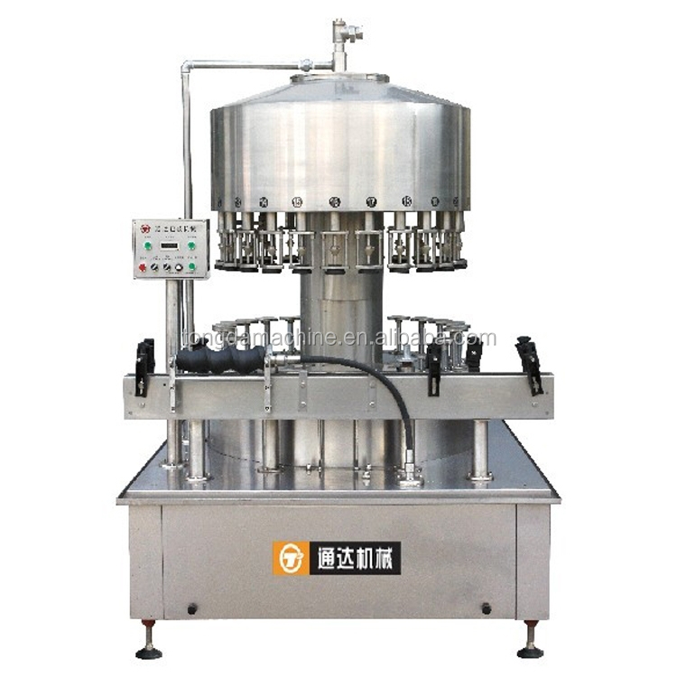 fully automatic pet/glass bottle fruit vinegar drink filling machine