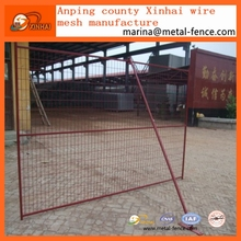 Canada 6x10 Used Temporary Fence Panels/Temporary Fence Stands Concrete For Sale