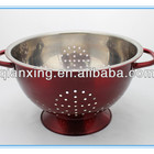 stainless steel colored fruit bucket