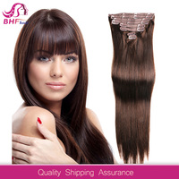 amazing high quality clip in human hair extensions